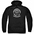 GM Oldsmobile pull-over hoodie 1930S Crest Emblem adult Black