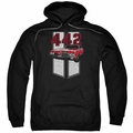 GM Oldsmobile pull-over hoodie Classic 442 adult Black