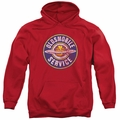 GM Oldsmobile pull-over hoodie Vintage Service adult Red
