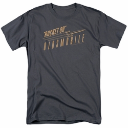 GM  Oldsmobile t-shirt Retro 88 mens Charcoal