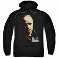 Godfather pull-over hoodie Don Vito adult black