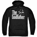 Godfather pull-over hoodie Logo adult black