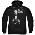 Godfather pull-over hoodie Poster adult black