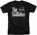 Godfather t-shirt Logo mens black