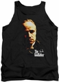 Godfather tank top Don Vito mens black