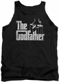 Godfather tank top Logo mens black