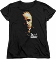 Godfather womens t-shirt Don Vito black