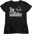 Godfather womens t-shirt Logo black