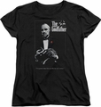 Godfather womens t-shirt Poster black