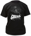 Godzilla B&W King Of The Monsters Adult t-shirt
