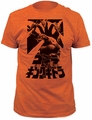 Godzilla Fire-Breathing Fitted Jersey t-shirt pre-order