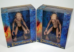 Gollum & Smeagol 1/4 scale figure set