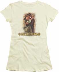 Gone With The Wind juniors t-shirt Embrace cream
