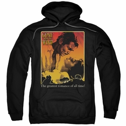 Gone With The Wind pull-over hoodie Greatest Romance adult black
