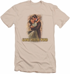 Gone With The Wind slim-fit t-shirt Embrace mens cream