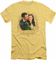 Gone With The Wind slim-fit t-shirt Gone Scrolling mens banana