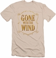 Gone With The Wind slim-fit t-shirt Logo mens cream
