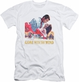 Gone With The Wind slim-fit t-shirt On Fire mens white