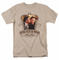 Gone With The Wind t-shirt Kissed mens sand