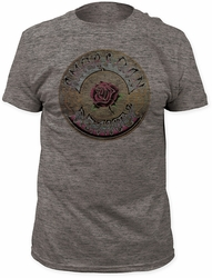 Grateful Dead t-shirt American Beauty Soft Fitted 30/1 Tri Blend mens heather   pre-order