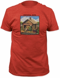 Grateful Dead t-shirt Terrapin Station Fitted 30/1 mens heather red pre-order