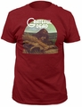 Grateful Dead t-shirt Wake of the Flood Fitted 30/1 mens cardinal pre-order