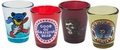 Grateful Dead Various Logos Shot Glasses 4 Pack Set pre-order