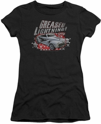 Grease juniors t-shirt Greased Lightening black