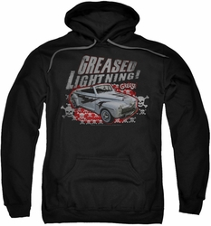 Grease pull-over hoodie Greased Lightening adult black