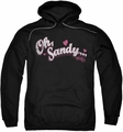 Grease pull-over hoodie Oh Sandy adult black