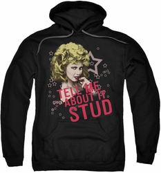 Grease pull-over hoodie Tell Me About It Stud adult black