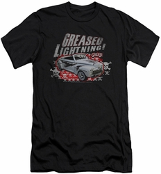 Grease slim-fit t-shirt Greased Lightening mens black