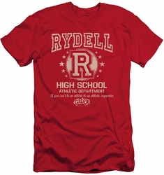 Grease slim-fit t-shirt Rydell High mens red