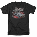 Grease t-shirt Greased Lightening mens black