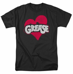 Grease t-shirt Heart mens black