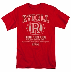 Grease t-shirt Rydell High mens red