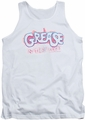 Grease tank top Grease Is The Word mens white