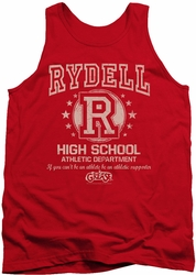Grease tank top Rydell High mens red