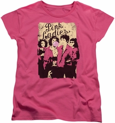 Grease womens t-shirt Pink Ladies hot pink