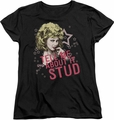 Grease womens t-shirt Tell Me About It Stud black