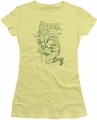 Green Arrow juniors t-shirt On Target banana