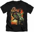 Green Arrow kids t-shirt Green Arrow #1 black