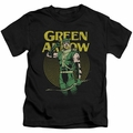 Green Arrow kids t-shirt Pull black