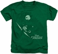 Green Arrow kids t-shirt The Emerald Archer kelly green