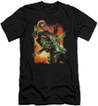 Green Arrow slim-fit t-shirt #1 NEW 52 mens black