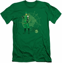 Green Arrow slim-fit t-shirt Arrow Target mens kelly green