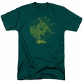 Green Arrow t-shirt Always On Target mens hunter green