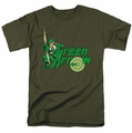Green Arrow t-shirt DC Character mens