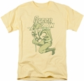 Green Arrow t-shirt On Target mens banana