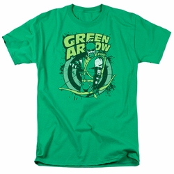 Green Arrow t-shirt On Target mens kelly green